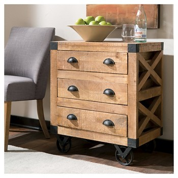 Donny Osmond 3 Drawer Accent Cabinet