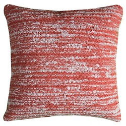 Rust Stripes Throw Pillow - (20x20) - Rizzy Home