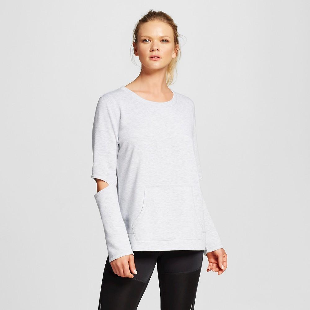 Women's Activewear Sweatshirt - Heather Gray Xxl - C9 Champion, Heather Grey