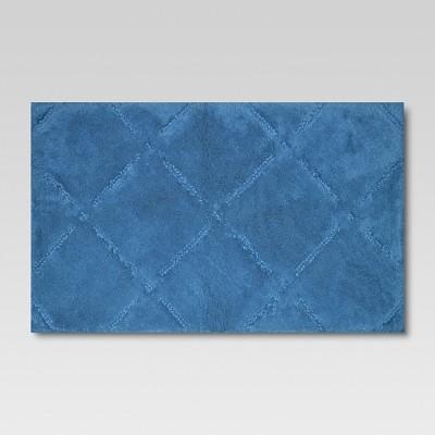 Ultra Soft Bath Rug Green Turquoise (20 x34 )- Threshold™