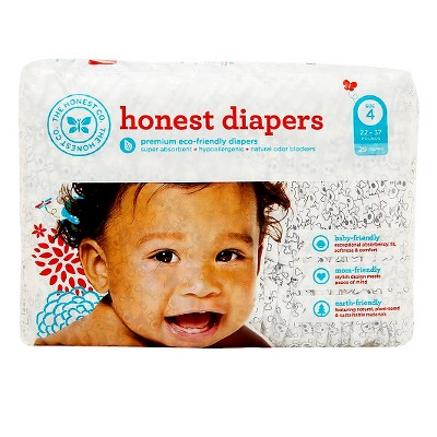 Honest Company Diapers Skulls - Size 4 (29 ct)