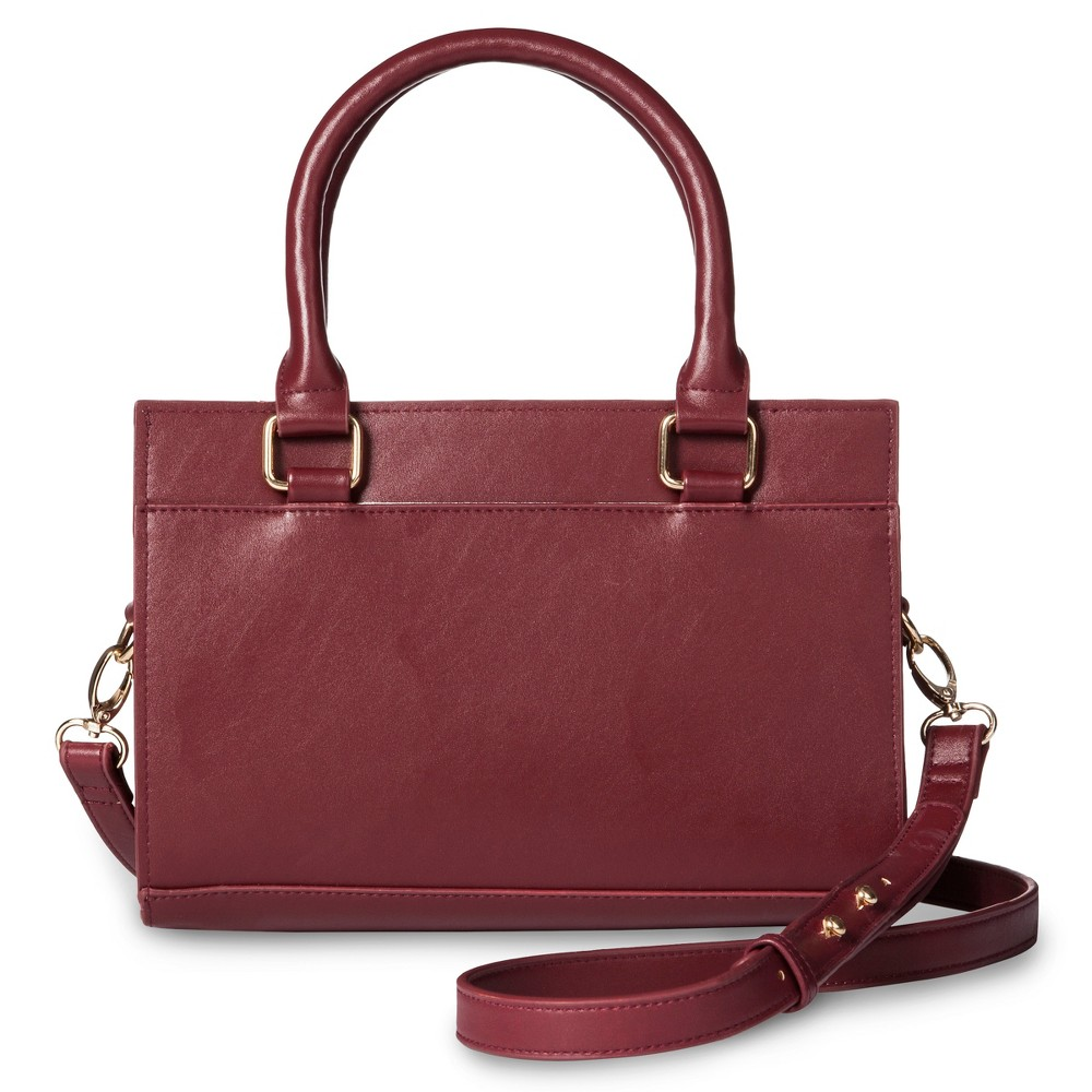Womens Handbag Dark Red - Who What Wear