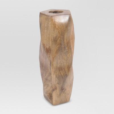 Wood Vase Short - Threshold™