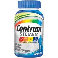 Centrum® Silver® Men 50+ Multivitamin Dietary Supplement Tablets - 200ct