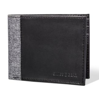 Swiss Gear Mens  Bifold Wallet - Heathered Black and Gray