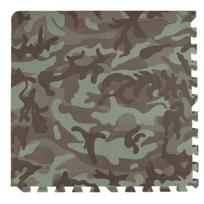 Tadpoles 24  Playmat Set, 4 Piece, Camouflage Print - Green