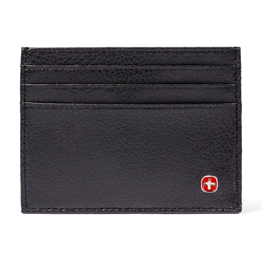 Swiss Gear Mens Card Case Wallet - Black