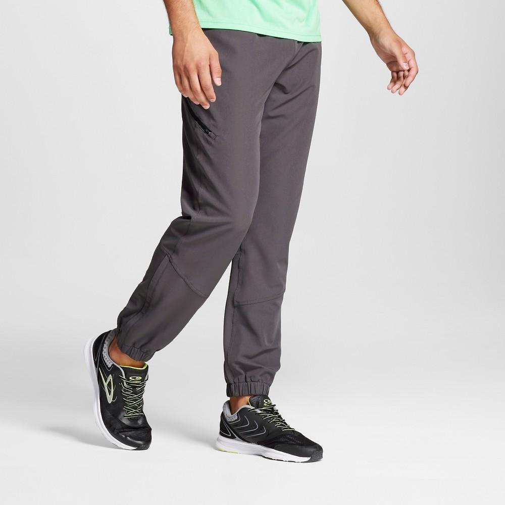Mens Premium Stretch Woven Pants - C9 Champion Railroad Gray S