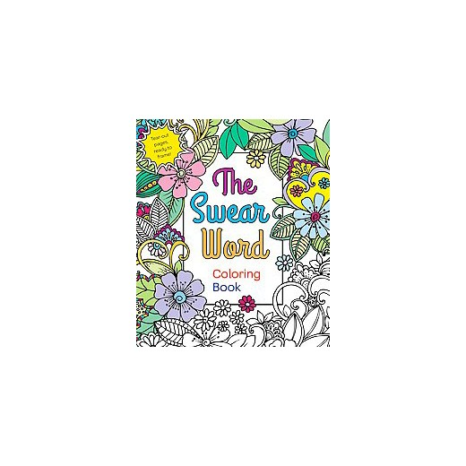 The Swear Word Coloring Book By Hannah Carter Paperback