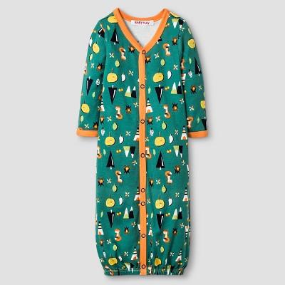 Baby Nay® Baby Boys' Campfire Friends Nightgown Converter - Orange 3-6M