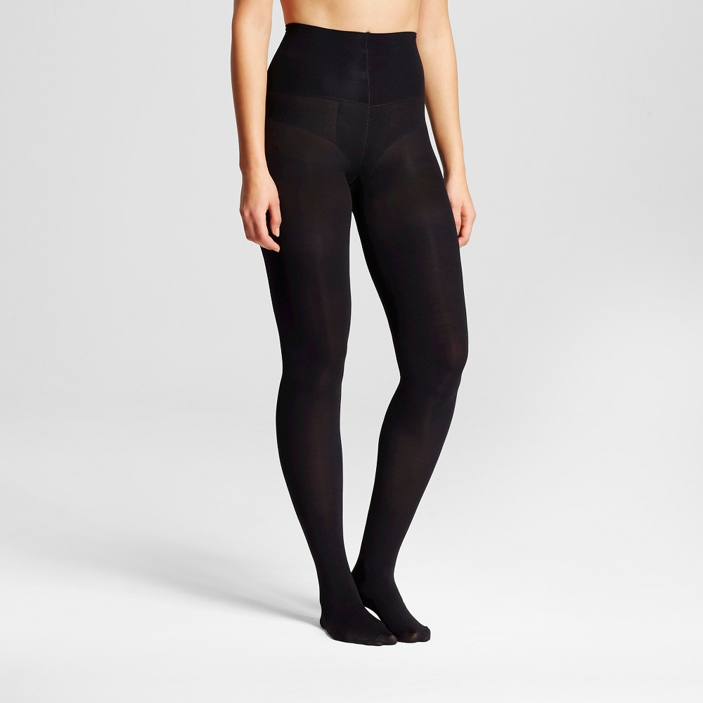 Assets by Spanx Womens Tummy Shaping Tight Black 1