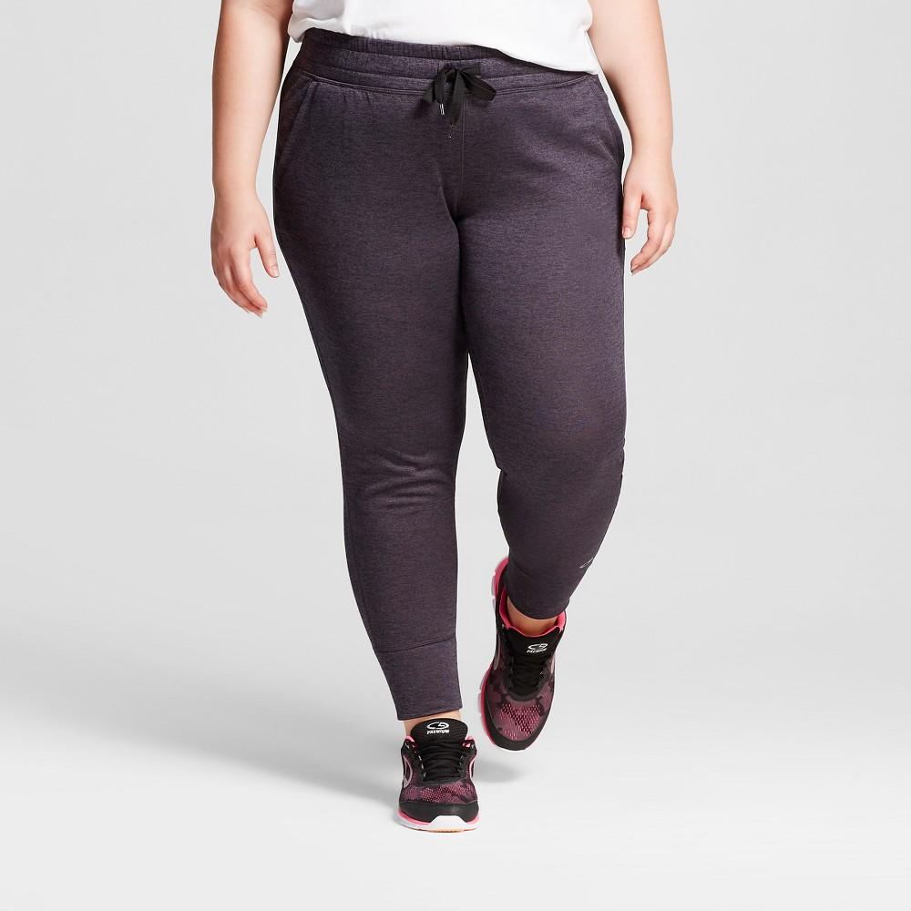 Women's Plus Size Tech Fleece Jogger Pants - C9 Champion Gray Heather 1X, Heather Gray
