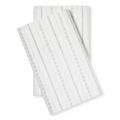Southern Pass Striped Pillowcase Set (Standard)Indigo - Beekman 1802 FarmHouse™