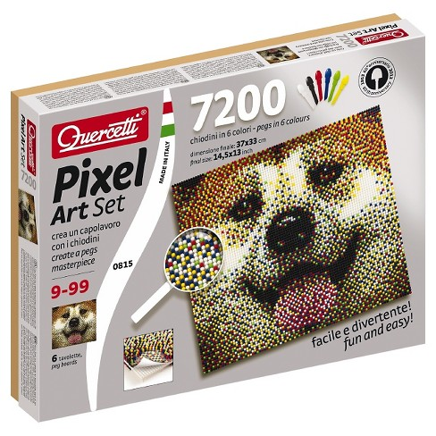 Quercetti® Pixel Art Set With Frame - Dog - image 1 of 2