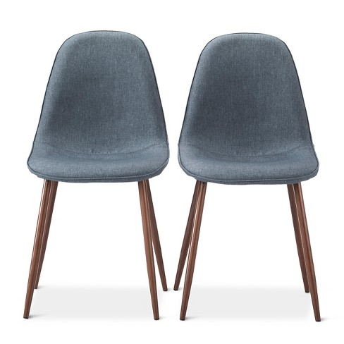 porter mid century modern dining chairs set of 2 - Set Of Dining Chairs