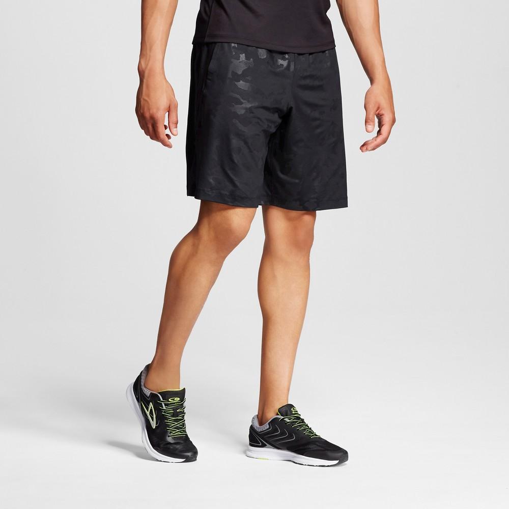 Men's Premium Training Vent Shorts - C9 Champion Black Camo M