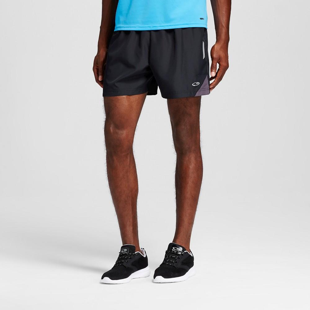 Mens 5 Running Shorts - C9 Champion Black L