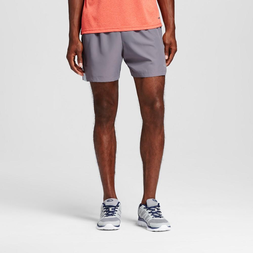 Mens 5 Running Shorts - C9 Champion Thundering Gray M