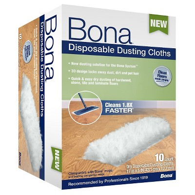 Bona® Disposable Dusting Cloths - 10 ct