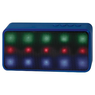 Lyrix Bluetooth LED Speaker - Blue (70453)