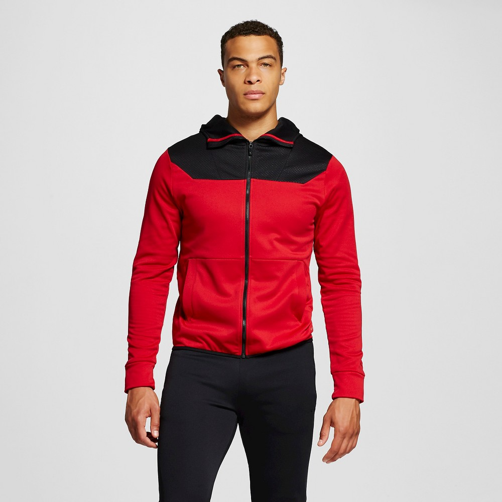 Mens Tech Fleece Hoodie - C9 Champion Red S