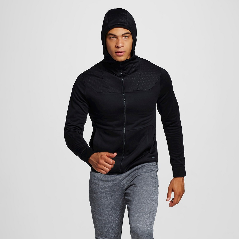 Men's Tech Fleece Hoodie - C9 Champion Black 2XL, Size: Xxl