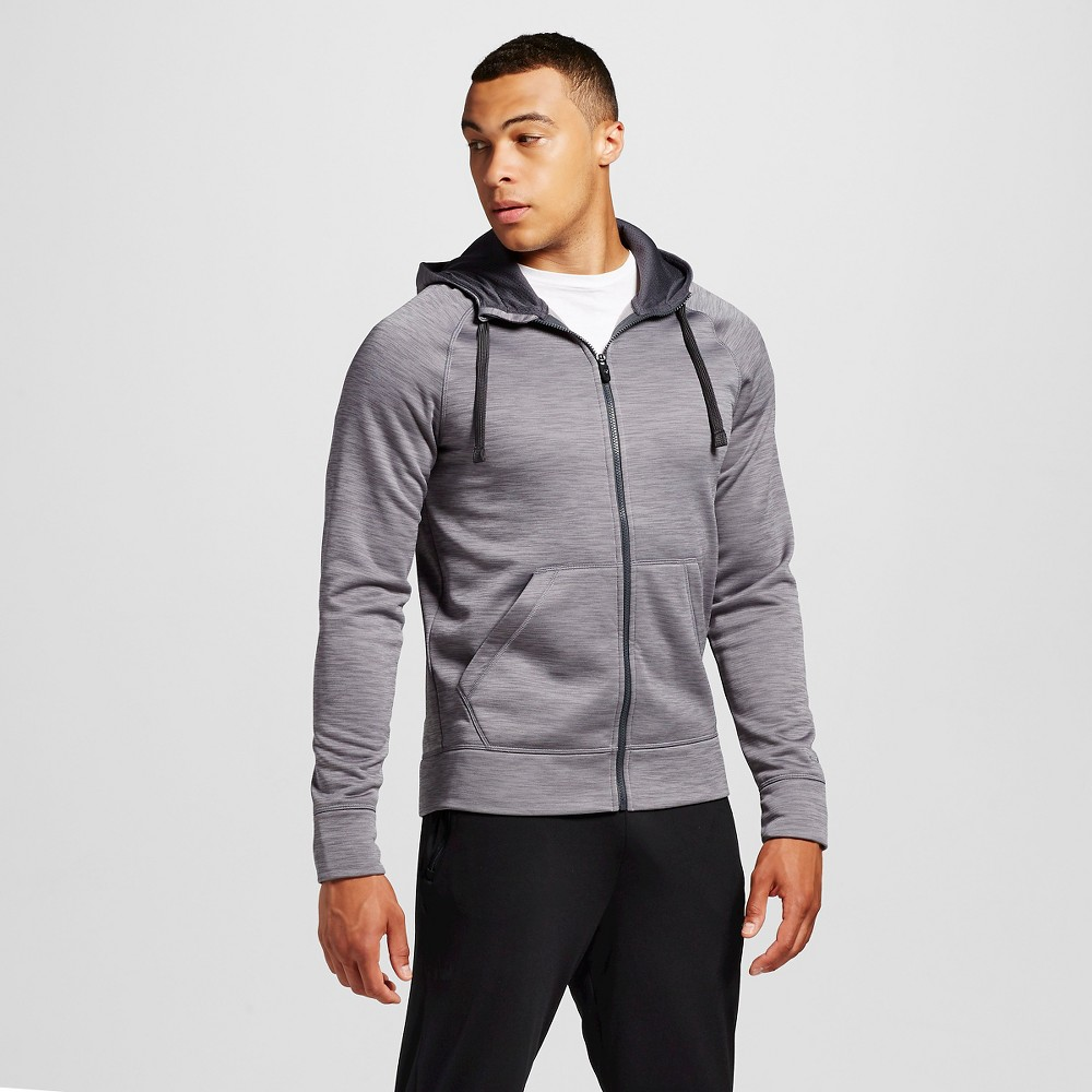 Mens Spacedye Hoodie - C9 Champion Thundering Gray 2XL, Size: Xxl
