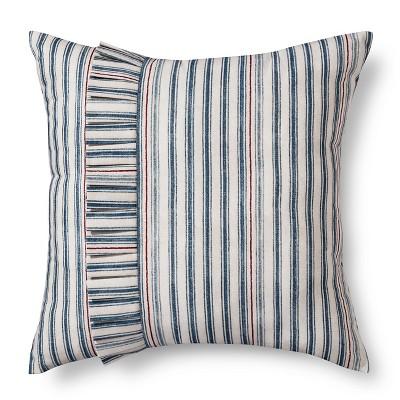 Montgomery Ruffle Throw Pillow (18 x18 )- Beekman 1802 FarmHouse™