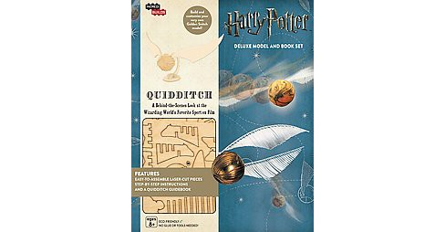 Harry Potter Quidditch : Deluxe Book and Model Set (Hardcover) (Jody Revenson) - image 1 of 1