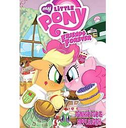 Pinkie Pie & Applejack (Library) (Alex De Campi)