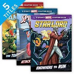 Mighty Marvel Chapter Books (Library) (Chris Wyatt)