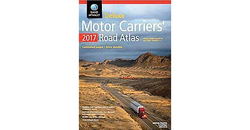 Rand McNally Motor Carriers' 2017 Road Atlas (Deluxe) (Paperback) - image 1 of 1