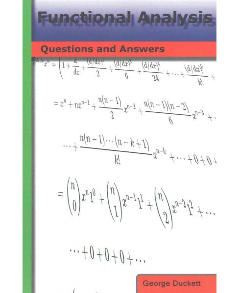 Functional Analysis : Questions and Answers (Paperback) (George Duckett) - image 1 of 1