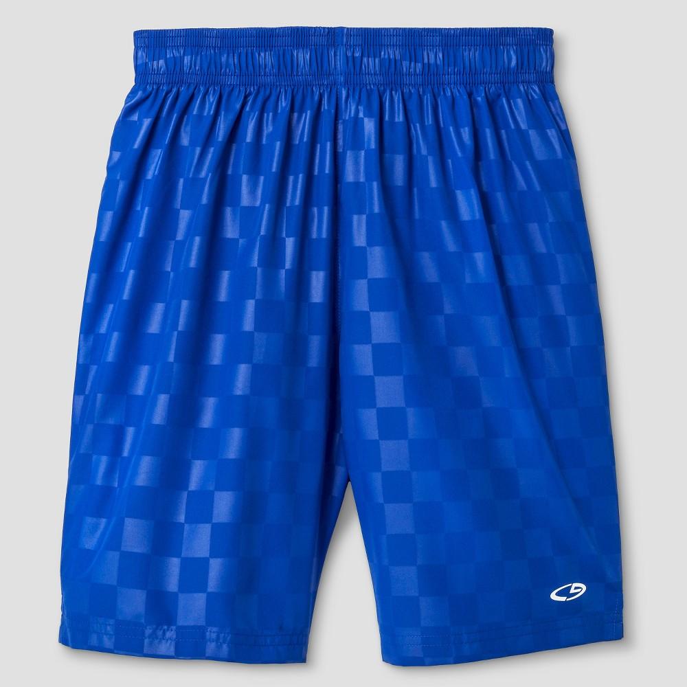 Boys Soccer Shorts - C9 Champion Omni Blue L