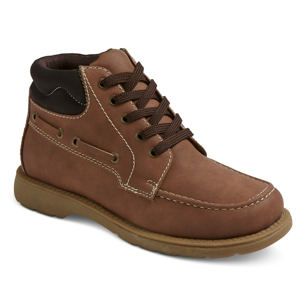 Boys Scott David Ryder Chukka Boots - Tan Suede 3