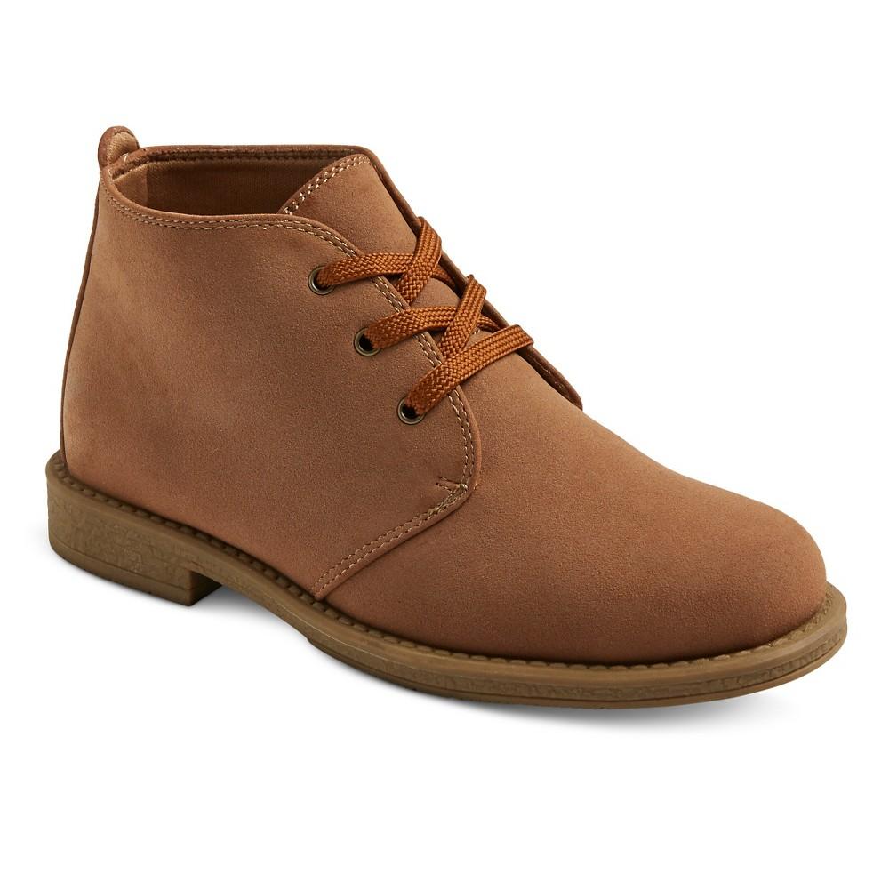 Boys Scott David Reid Chukka Boots - Tan Smooth 12