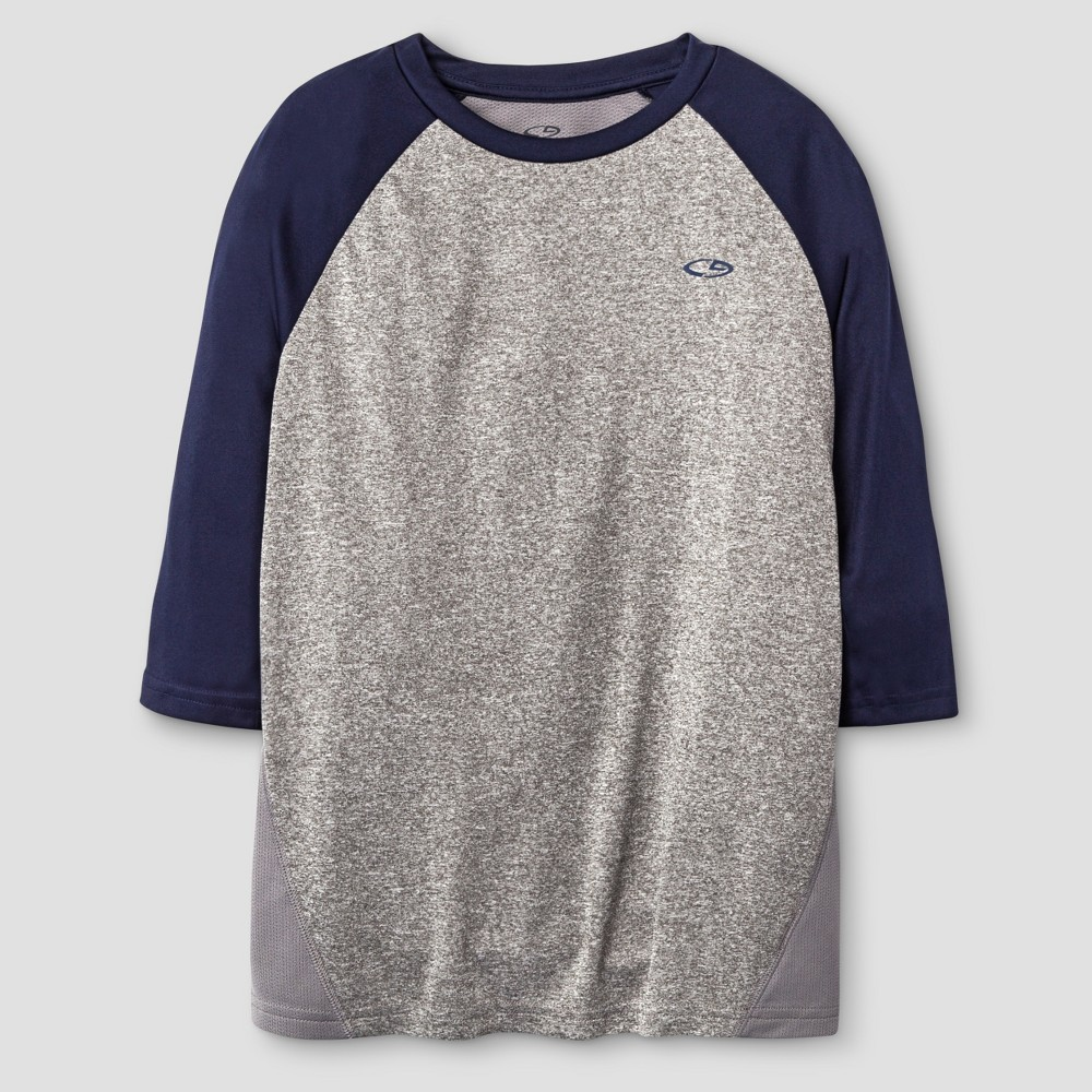 Boys Baseball 3/4 Sleeve C9 Champion - Navy (Blue) XS