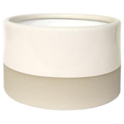 Round Vase Crackle Glaze - Smith & Hawken™