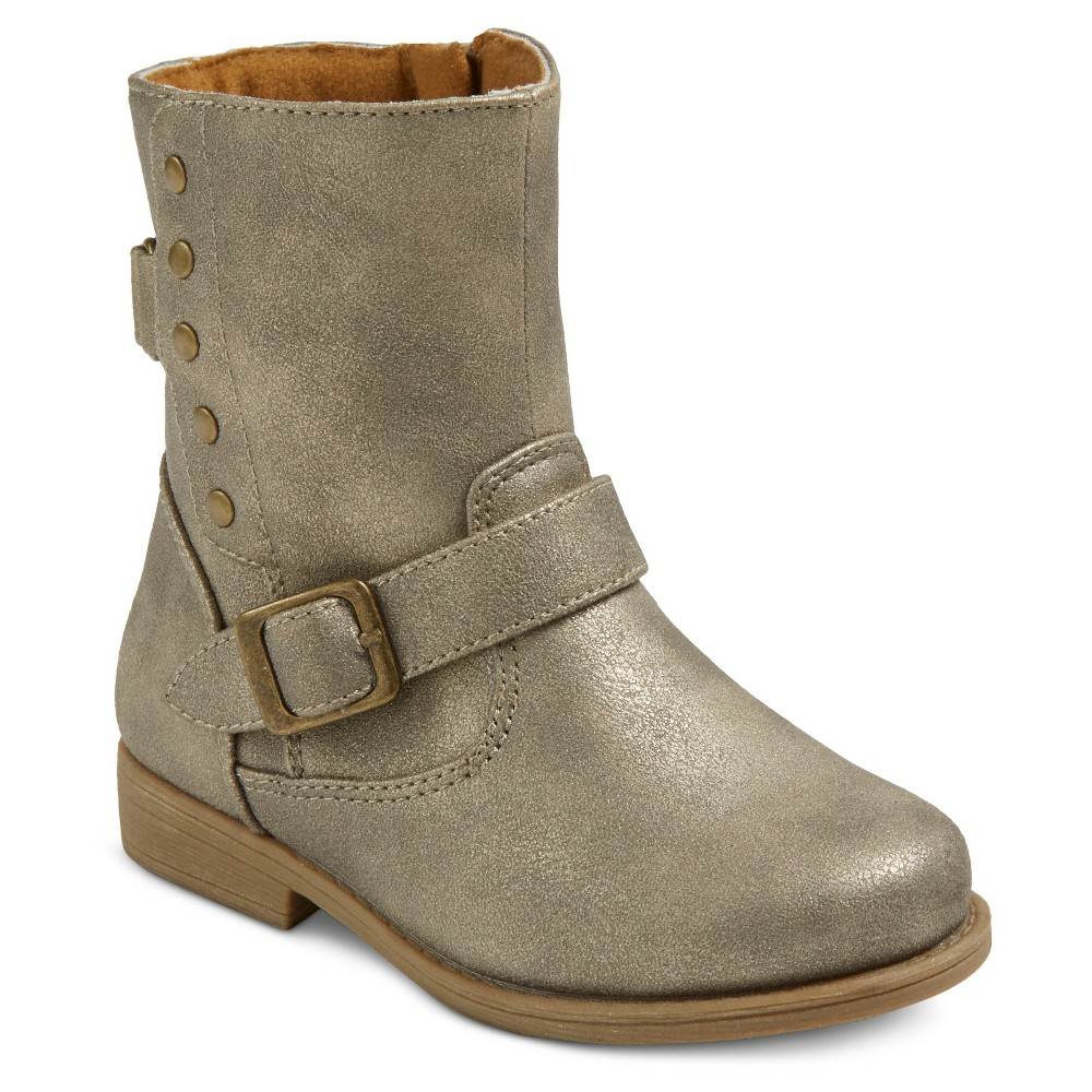 Toddler Girls Rachel Shoes Low Fashion Boots - Gold Shimmery 8