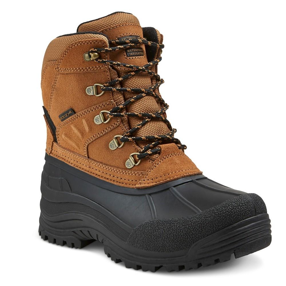 Mens Arctic Cat Commute Winter Boots - Tan 9, Beige