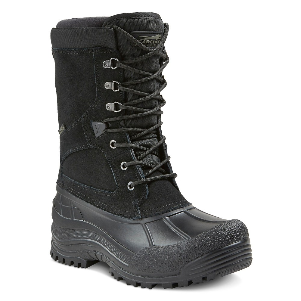 Mens Arctic Cat UltraPac Winter Boots - Black 12