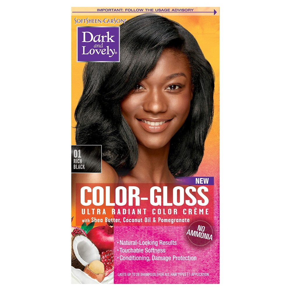 Best Price Dark And Lovely Color Gloss Semi Permanent Hair Color