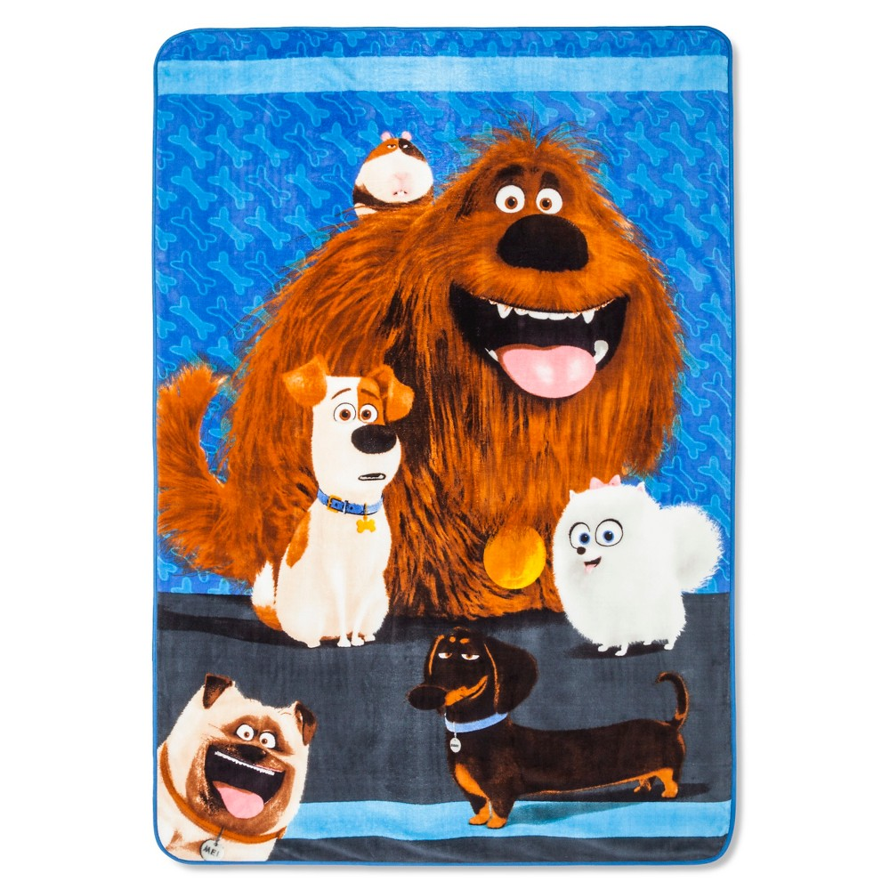 House-Trained Bed Blanket (Twin) - The Secret Life of Pets
