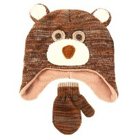 Boys' Bear Hat and Mitten Set  - Cat & Jack. opens in a new tab.