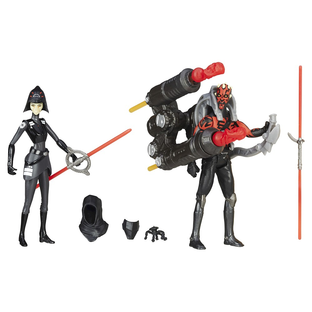 Star Wars Rebels Seventh Sister Inquisitor VS. Darth Maul