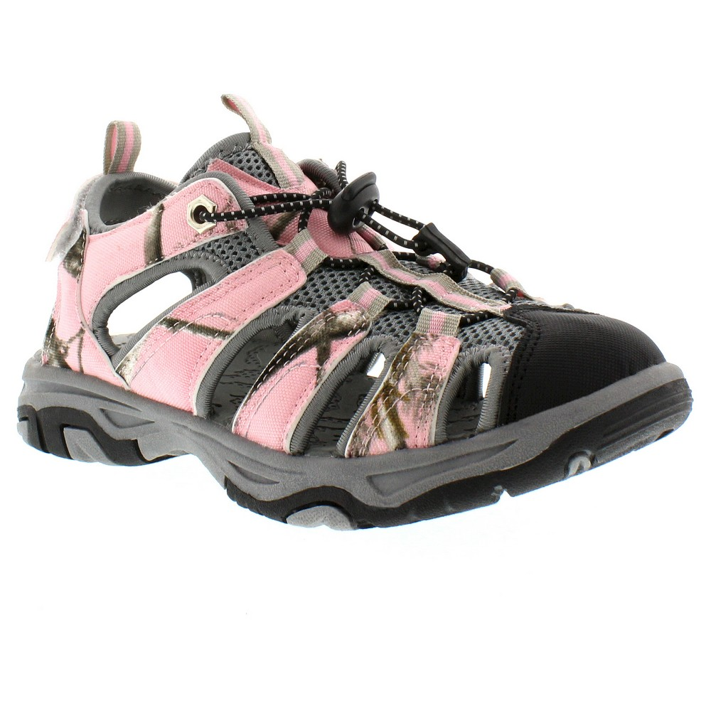 Womens Itasca West Lake Hiking Sandals - Pink Camo 6