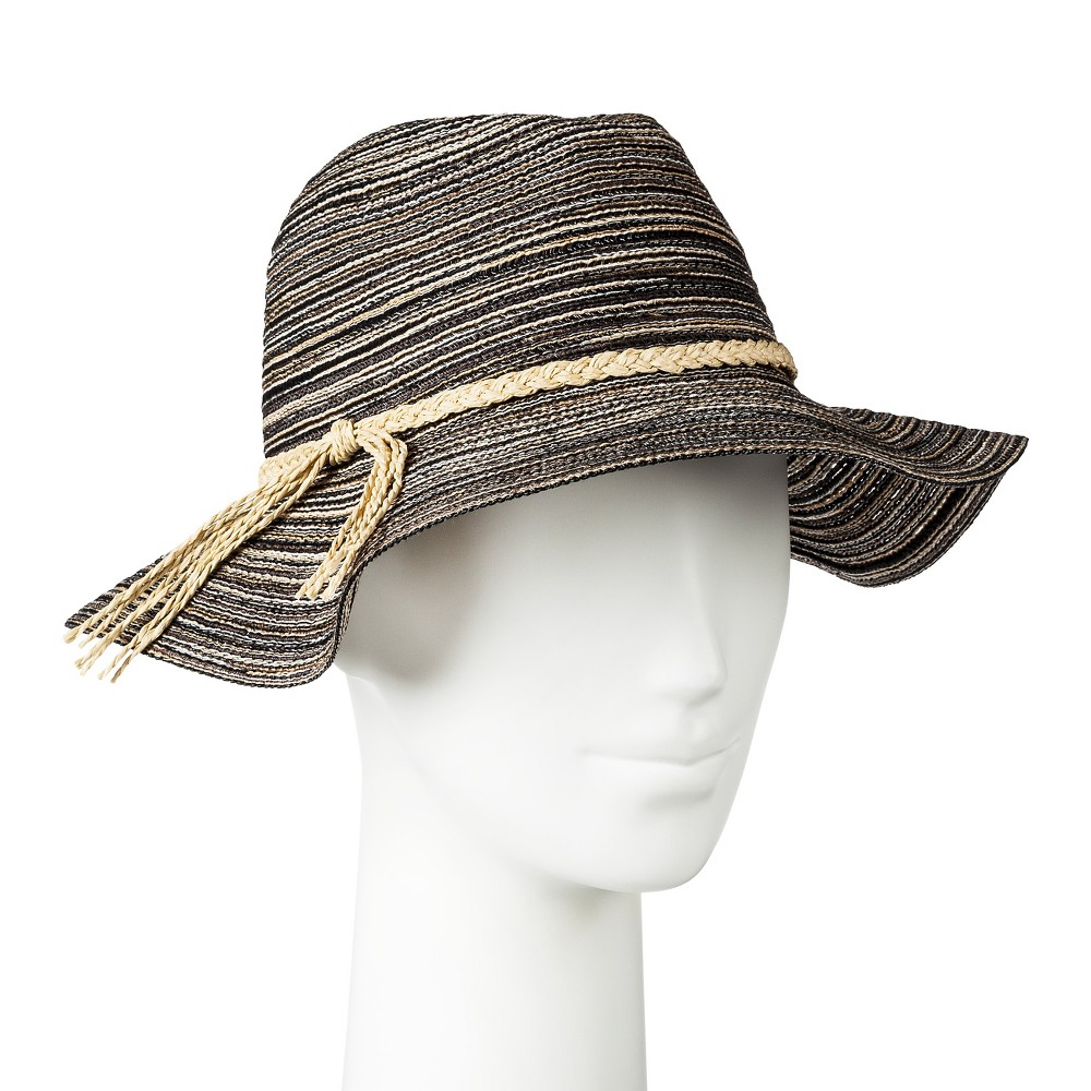 Womens Fedora Black - Merona