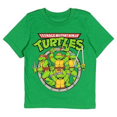 Teenage Mutant Ninja Turtles® Toddler Boys' Short Sleeve T-Shirt - Heather Green 18 M