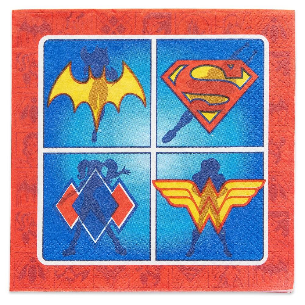 16 ct DC Comics Super Hero Girls' Napkin