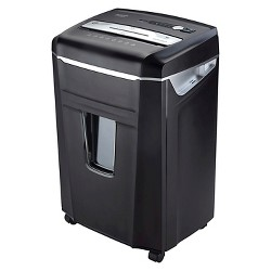 Aurora High Security 10 Sheet Paper/CD Shredder with Pull-Out Basket - AU1000MA